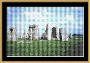 Stonehenge | Crafting | Cross-Stitch | Wall Hangings