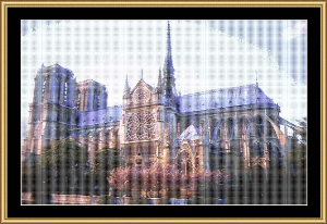 Notre Dame Cathedral | Crafting | Cross-Stitch | Religious