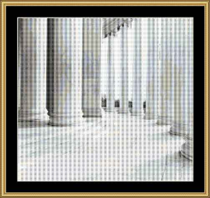 Jefferson Memorial | Crafting | Cross-Stitch | Other