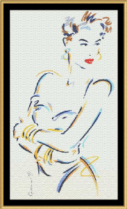 Giselle | Crafting | Cross-Stitch | Wall Hangings