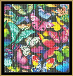 Mixed Butterfly | Crafting | Cross-Stitch | Animals