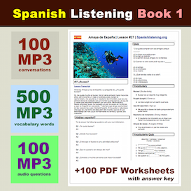 Conversational Spanish Lessons on CD