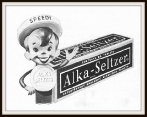 alka-seltzer magazine ads package