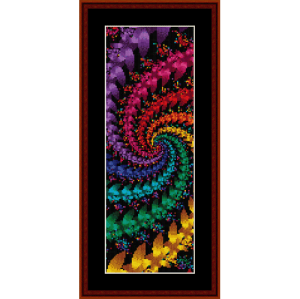 Fractal 57 Bookmark cross stitch pattern by Cross Stitch Collectibles | Crafting | Cross-Stitch | Other