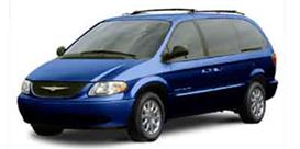 2001 chrysler town & country/voyager