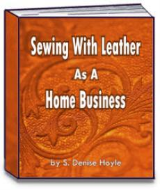 Sewing With Leather as a Home Business | eBooks | Arts and Crafts