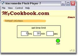 MyCookbook Cooking Timer | Software | Home and Desktop