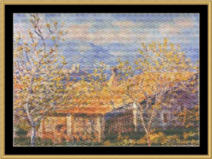 Great Masters Collection - Antibes - Monet | Crafting | Cross-Stitch | Wall Hangings