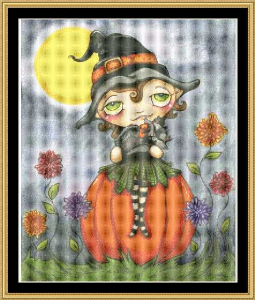 Witchie Poo | Crafting | Cross-Stitch | Holiday and Seasonal