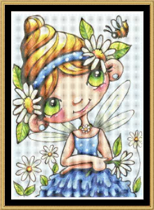 Daisy Flower Fairy | Crafting | Cross-Stitch | Other