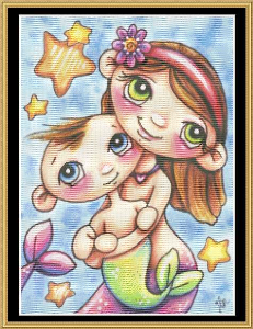 My Sister & Me | Crafting | Cross-Stitch | Baby and Child