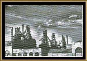 Bethlehem Steel | Crafting | Cross-Stitch | Wall Hangings