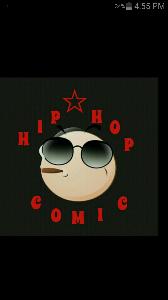 hip-hop comic logo