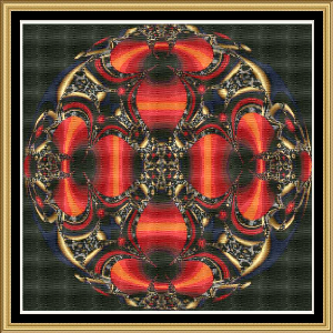 Wild World Of Fractals 02 | Crafting | Cross-Stitch | Wall Hangings