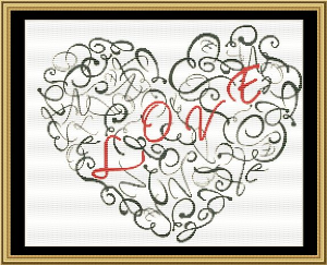 Love | Crafting | Cross-Stitch | Wall Hangings