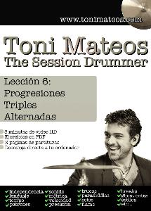the session drummer. leccion 6. progresiones triples alternadas sd