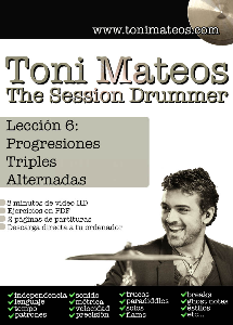 The Session Drummer. Leccion 6. Progresiones Triples Alternadas HD | Music | Other