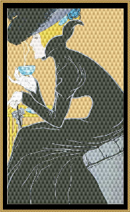 art nouveau poster collection - marco polo tea