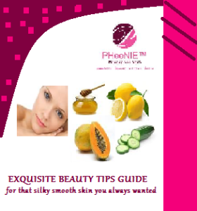pheenie exquisite beauty tips manual