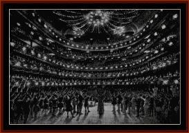 Metropolitan Opera House 1910 - Photograph cross stitch pattern by Cross Stitch Collectibles | Crafting | Cross-Stitch | Other