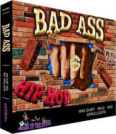 Bad Ass Hip Hop - Hip Hop/Urban Loops(WAV/AIFF/Apple Loops/Midi/REX2) | Music | Soundbanks