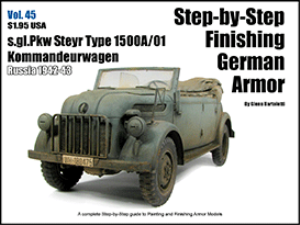 vol 45 steyr typ 1500a/01 kommandeurwagen