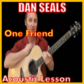 First Additional product image for - Learn to play One Friend by Dan Seals