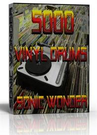 5000 vinyl drums  - wave samples -