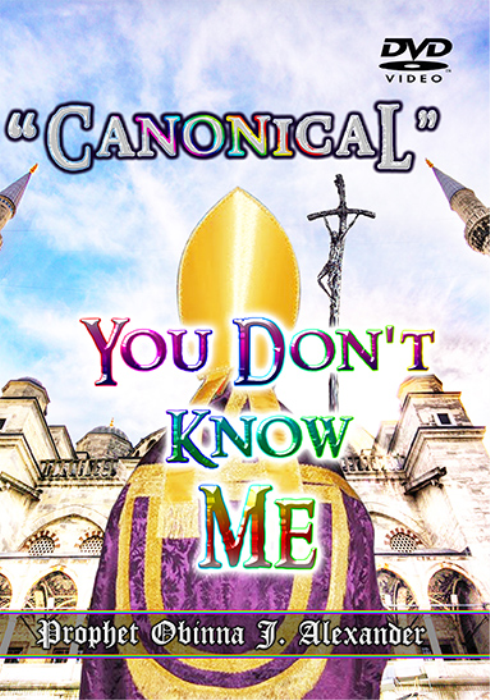 "First Additional product image for - ""canonical"" You Don't Know Me"