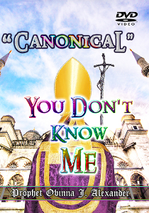"""canonical"" You Don't Know Me 