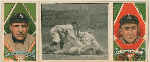 vintage baseball cards ty cobb
