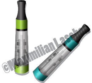 electronic cigarette atomizer vector