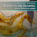 Creative Figure Drawing Walk-Through Demo Video | Movies and Videos | Arts