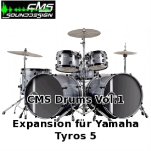 CMS Drums Vol.1 | Software | Audio and Video