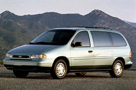 1998 Ford Windstar MVMA Specifications | eBooks | Automotive