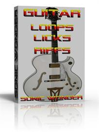 guitar loops licks riffs  - wave samples -