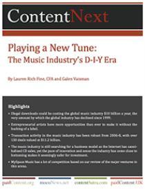 Playing a New Tune: The Music Industry's DIY Era | eBooks | Business and Money