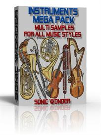 Mega Instruments Multi Sample Pack  -  For All Music Styles - Wave - | Music | Soundbanks