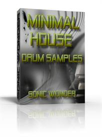 Minimal House Drum Samples  - One Shot Wave Samples - Drum Kit | Music | Soundbanks