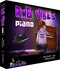 RnB Vibes: Piano - RnB Piano Progressions(WAV/AIFF/Apple Loops/Midi) | Music | Soundbanks