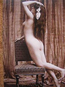 vintage female nudes set 2