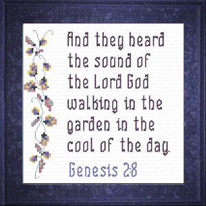 QS In The Garden | Crafting | Cross-Stitch | Religious