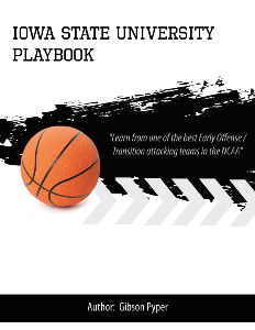 Iowa State Basketball Playbook | eBooks | Sports