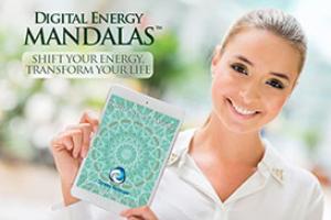heart activation - digital energy mandala