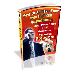 how to achieve financial independence