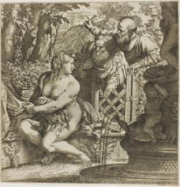 Palestrina : Susanna ab improbis senibus : Printable cover page | Music | Classical
