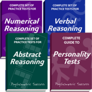 numerical, verbal and abstract reasoning plus personality tests ebooks