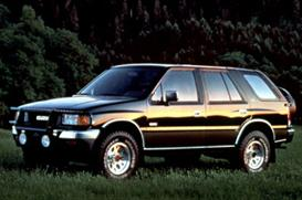 1997 Isuzu Rodeo MVMA Specifications | eBooks | Automotive