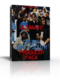 ultimate crunk - dirty south  producer pack   - wave samples -