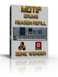 Yamaha Motif Drums  - Reason Refill - | Music | Soundbanks